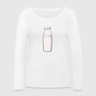 milk bottle - Women's Organic Longsleeve Shirt by Stanley & Stella