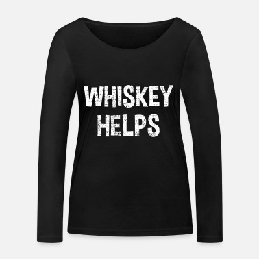 Whisky whisky - T-shirt manches longues bio Stanley & Stella Femme