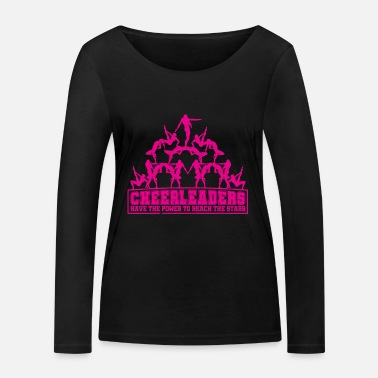 Cheerleading Cheerleaders cheerleading - Women's Organic Longsleeve Shirt by Stanley & Stella