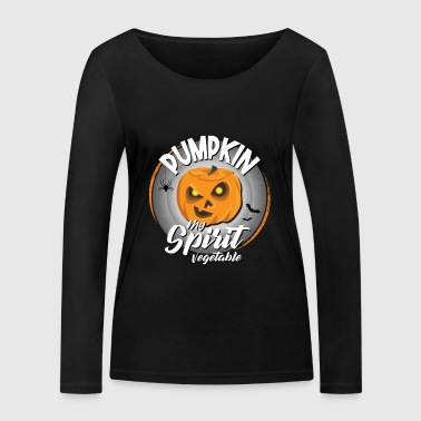 Halloween Pumpkin My Spirit Vegetable Pumpkin Halloween - Vrouwen bio shirt met lange mouwen van Stanley & Stella