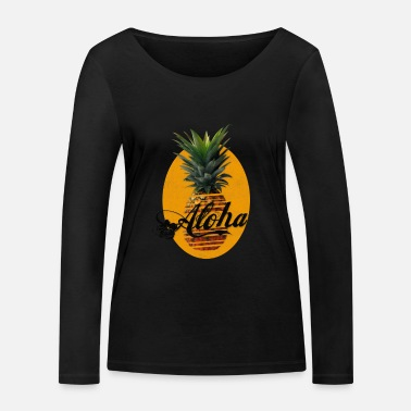 Hawaii Hawaii pineapple - Women's Organic Longsleeve Shirt