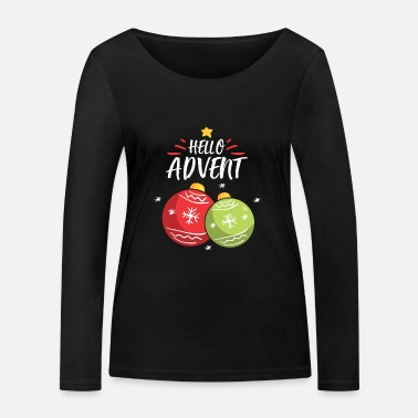 Advent Advent - Women's Organic Longsleeve Shirt by Stanley & Stella