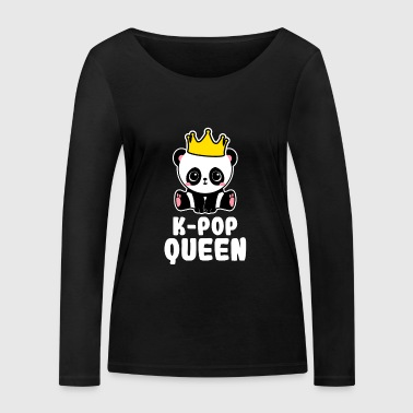 K-Pop Queen - Korea Pop Music Fangirl Gift - Women's Organic Longsleeve Shirt by Stanley & Stella