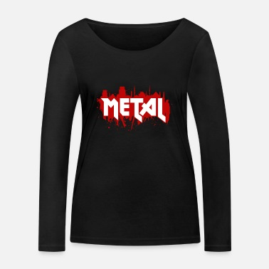 Heavy Metal Heavy Metal - T-shirt manches longues bio Stanley & Stella Femme