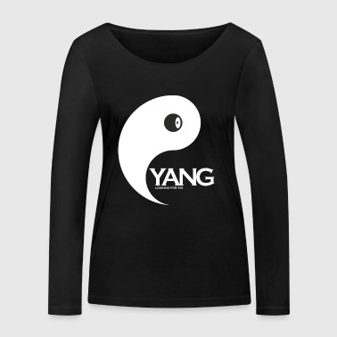 Yang as a couple design Yin is looking for couples - Women's Organic Longsleeve Shirt by Stanley & Stella
