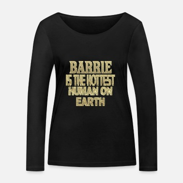 Bar Barrie - T-shirt manches longues bio Stanley & Stella Femme