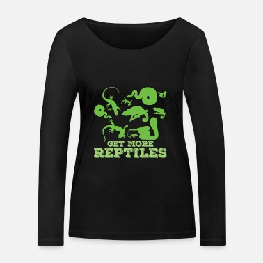 Reptile reptile - T-shirt manches longues bio Stanley & Stella Femme
