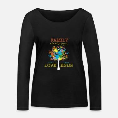 Family Tree family - Women s Organic Longsleeve Shirt by Stanley  amp  ... ec184ebf58