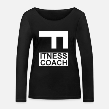 Fitness Fitness - Fitness Coach - T-shirt manches longues bio Stanley & Stella Femme