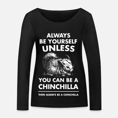Wine chinchilla - Women's Organic Longsleeve Shirt by Stanley & Stella