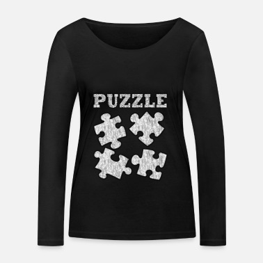Puzzle PUZZLE - Women's Organic Longsleeve Shirt by Stanley & Stella