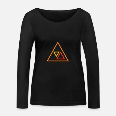 Triangle triangles - T-shirt manches longues bio Stanley & Stella Femme
