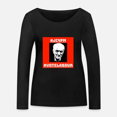 Labour Jeremy Corbyn For Prime Minister - Women's Organic Longsleeve Shirt by Stanley & Stella