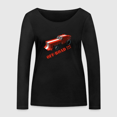 Bolide Off Road fan - T-shirt manches longues bio Stanley & Stella Femme