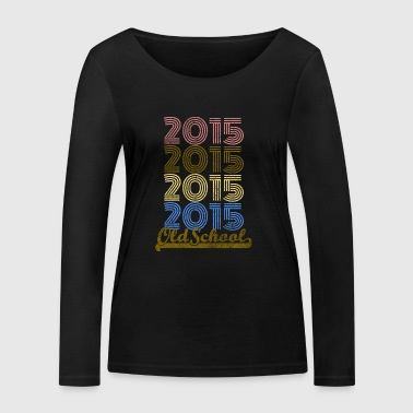 Old School Old School 2015 - T-shirt manches longues bio Stanley & Stella Femme