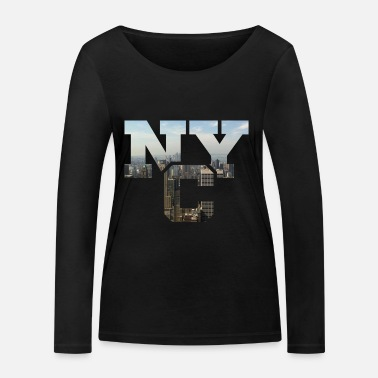 Nyc NYC - Women's Organic Longsleeve Shirt by Stanley & Stella