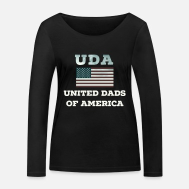 4th United Dads Of America Star 4th July 4th 4th - Women's Organic Longsleeve Shirt