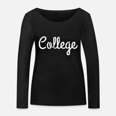 Collège COLLEGE - T-shirt manches longues bio Femme