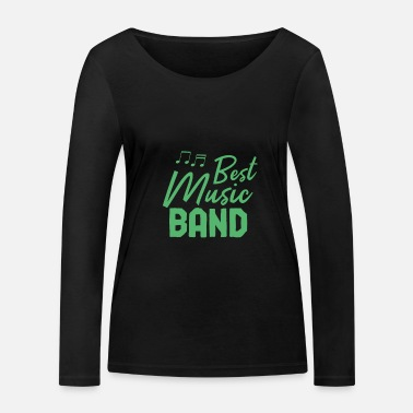 Band Music band band member band band school band - Women's Organic Longsleeve Shirt