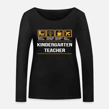 Education educator - Women's Organic Longsleeve Shirt