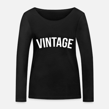 Hiphop Old School vintage old school - T-shirt manches longues bio Femme