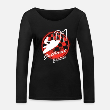 Vehicle JETBOAT CAPTAIN - Women's Organic Longsleeve Shirt