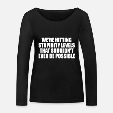 Funny Jokes Funny jokes - Women's Organic Longsleeve Shirt