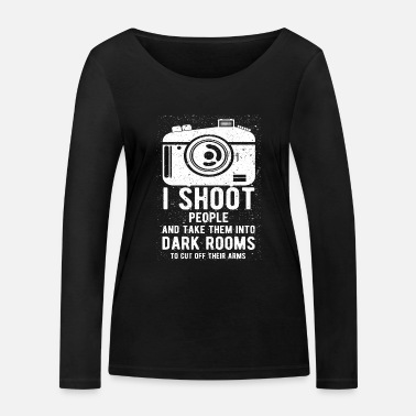 Darkroom Photography saying darkroom - Women's Organic Longsleeve Shirt