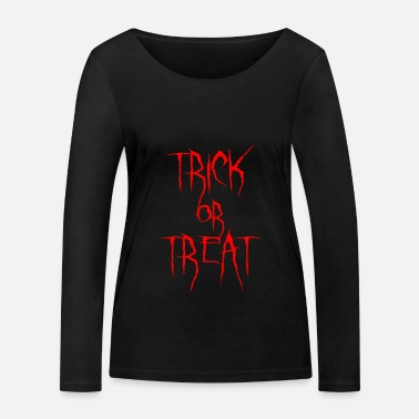 Trick Or Treat Trick or treat - Frauen Bio Langarmshirt