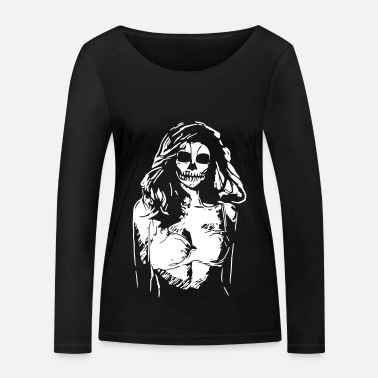 Intimo Up Halloween SEXY DEAD ZOMBIE PIN-UP GIRLS 2reborn - Maglietta maniche lunghe ecologica donna