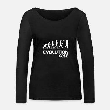 Freihzeit Evolution golf - Women's Organic Longsleeve Shirt
