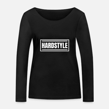 Hardstyle Hardstyle | Marchandise hardstyle - T-shirt manches longues bio Femme