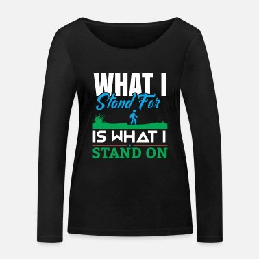 Climate Change Fridays For Future Demo Spruch - Frauen Bio Langarmshirt