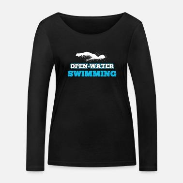 Open Swimming open water - Women's Organic Longsleeve Shirt