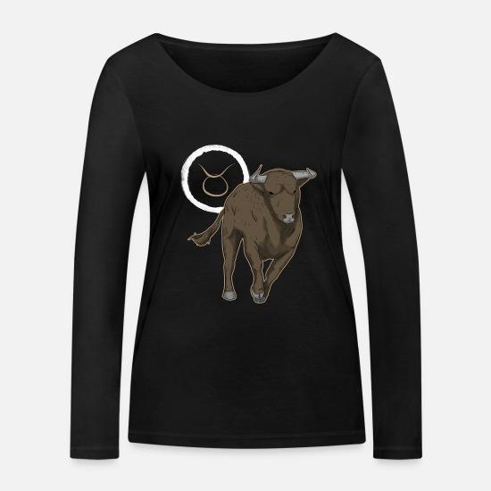 Stjernetegn Tyren Premium T skjorte for kvinner   Spreadshirt
