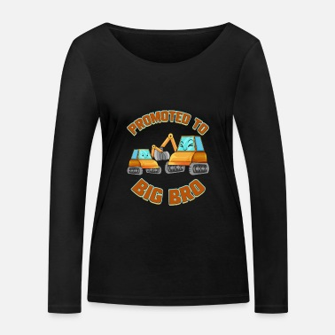 Brother Big brother digger gift for excavator driver - Women's Organic Longsleeve Shirt