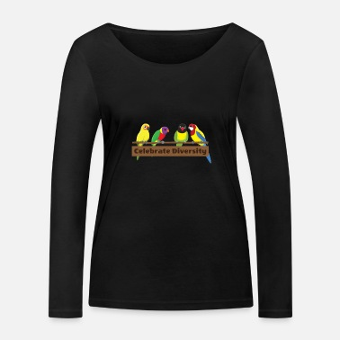 Gift for Conures Lovers | Funny Celebrate - Women's Organic Longsleeve Shirt