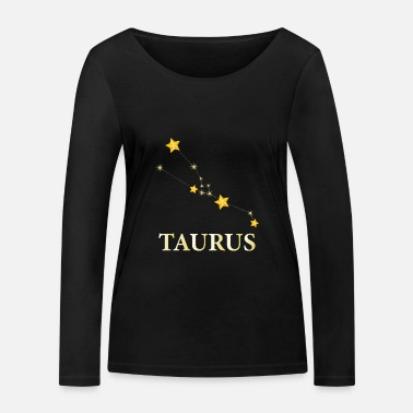 Astrologue Zodiac Constellation Taurus Astrologer ou Taurus Ge - T-shirt manches longues bio Femme