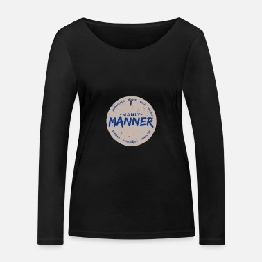 Mänlich male men - Women's Organic Longsleeve Shirt