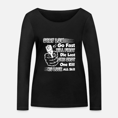Cool Shooting Things About Shooting - Women's Organic Longsleeve Shirt