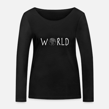 Hour World Earth - Women's Organic Longsleeve Shirt
