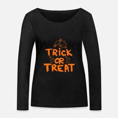 Trick Or Treat Trick or Treat - T-shirt manches longues bio Femme