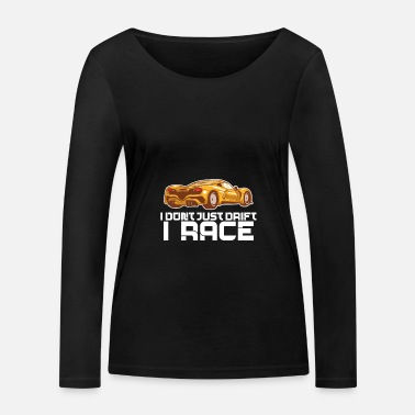 Race Track Just Drift I Race Track - T-shirt manches longues bio Femme