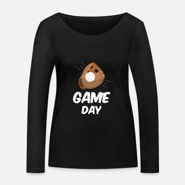 Painter Cool Baseball Game Baseball Glove Fans gift - Women's Organic Longsleeve Shirt