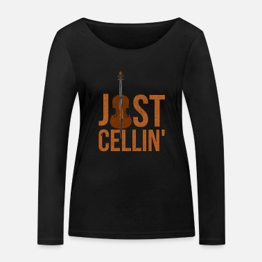 Cello Cello cello player - Women's Organic Longsleeve Shirt