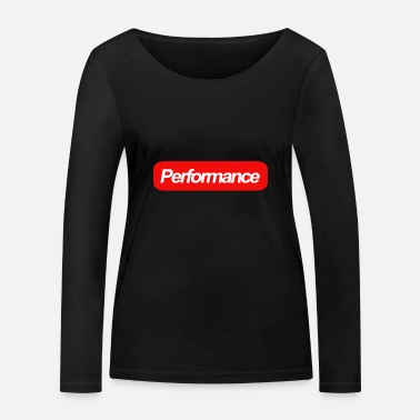 Performance performance - T-shirt manches longues bio Femme