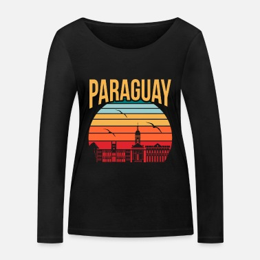 Tourist Paraguay America Travel Gift Idea - Women's Organic Longsleeve Shirt