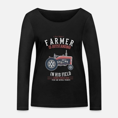 Farming farm - Women's Organic Longsleeve Shirt