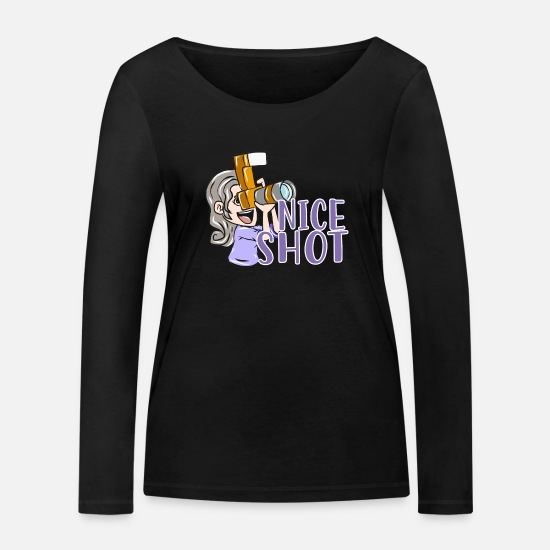 Gift Idea Long Sleeve Shirts - photographer - Women's Organic Longsleeve Shirt black