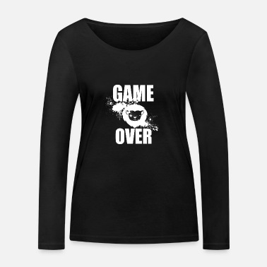 Game Over Gamer - Game Over - Økologisk langærmet T-shirt dame